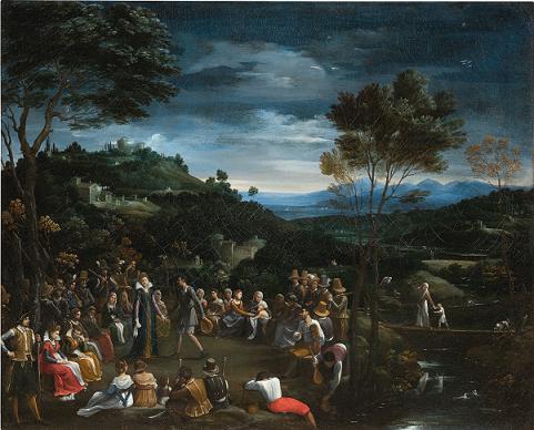 La Danza campestre di Guido Reni torna alla Galleria Borghese