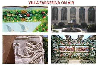 Villa Farnesina è on air