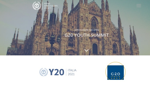 G20 Youth Summit: ultimi 10 giorni per le candidature