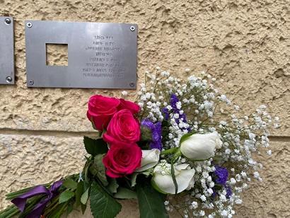 Mosca: inaugurata una targa in memoria di Alice Negro (1904-1944)