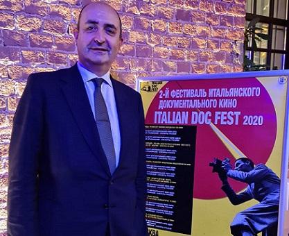 INAUGURATA A MOSCA LA SECONDA EDIZIONE DEL FESTIVAL DI DOCUMENTARI ITALIANI - ITALIAN DOC FEST (IDF)