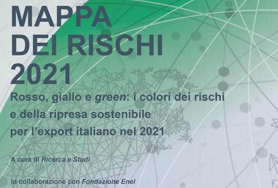 Rosso, giallo e green: i colori dei rischi e della ripresa sostenibile per l'export italiano