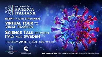 Giornata della ricerca italiana: a Stoccolma un webinar su virus e immunità