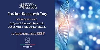 Giornata della Ricerca Italiana nel Mondo: seminario web a Helsinki