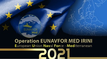 Online il calendario Eunavfor Med Irini per il 2021