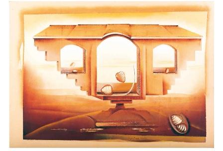 Le opere di Cesare Paolantonio in mostra a Mantova