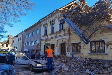 Terremoto Croazia: il cordoglio del Presidente Mattarella