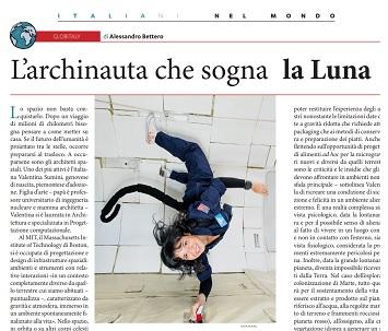 L'ARCHINAUTA CHE SOGNA LA LUNA - di Alessandro Bettero