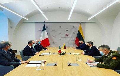 Difesa: il Sottosegretario Mulè in Lituania