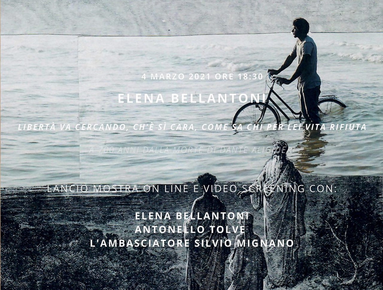 Dante 700/ Berna: la mostra personale di Elena Bellantoni apre le celebrazioni in Svizzera