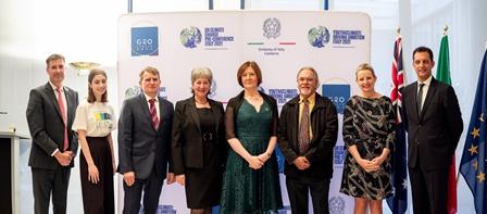 "Canberra: ""Towards COP-26: Building on ambition"" con l'Ambasciata"