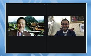 Il Ministro Patuanelli incontra il Direttore Generale della FAO Qu Dongyu