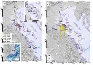 Deformazioni del suolo nell'Adriatico settentrionale: un inestimabile database di misure GPS su piattaforme petrolifere