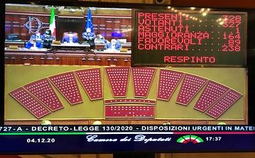 Cittadinanza/ Nissoli (FI) e Billi (Lega): bocciato il nostro OdG, Governo indifferente