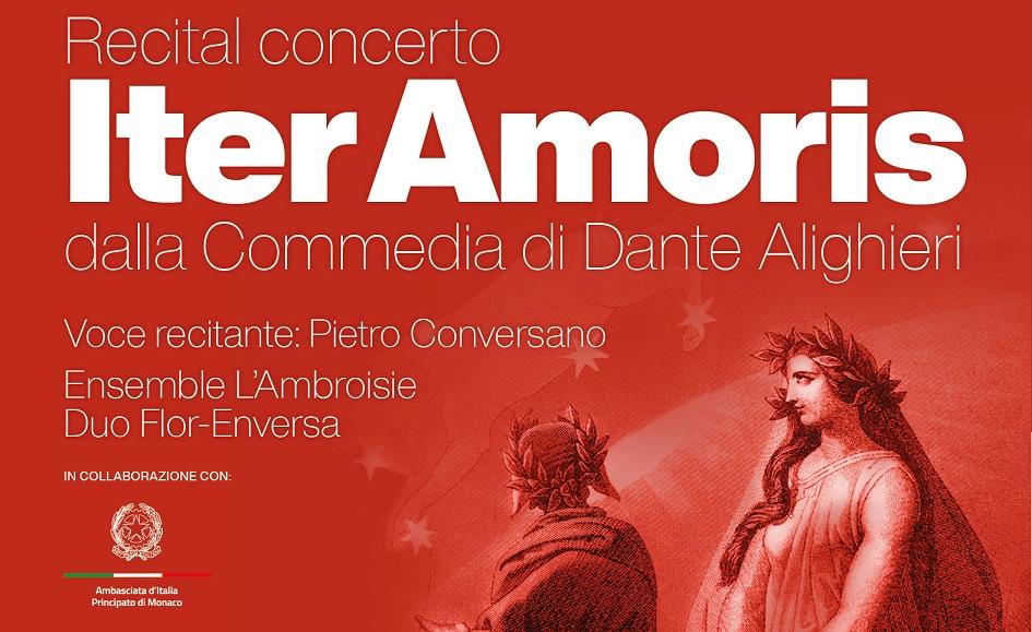 Iter amoris: a Montecarlo il recital concerto della Dante