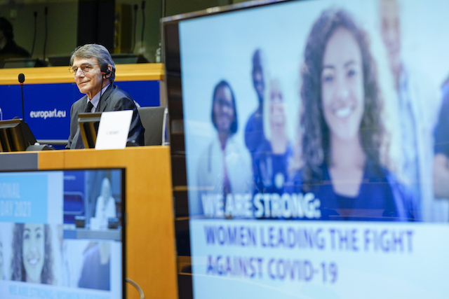 Il Parlamento europeo celebra la Giornata internazionale delle donne - di Gianluca Martucci