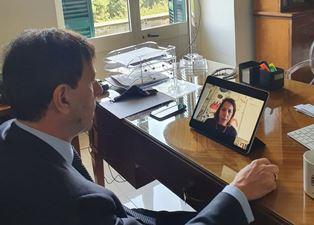 Malta: l'ambasciatore Romano in videoconferenza con la Missione Archeologica Italiana