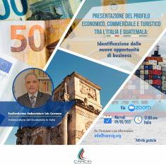 Nuove opportunità di business tra Italia e Guatemala: il webinar della CCIG