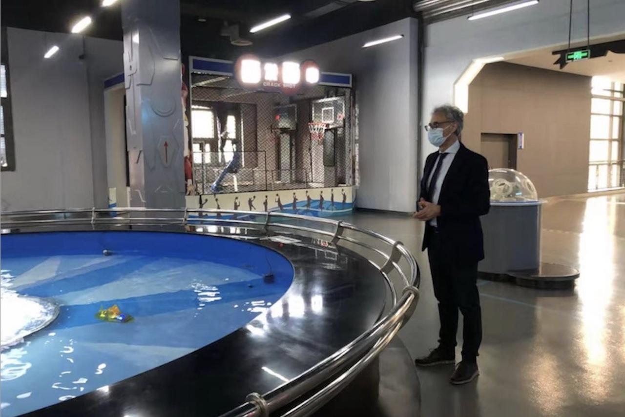 Chongqing: l'addetto scientifico visita il Museo della Scienza e Tecnologia del Sichuan