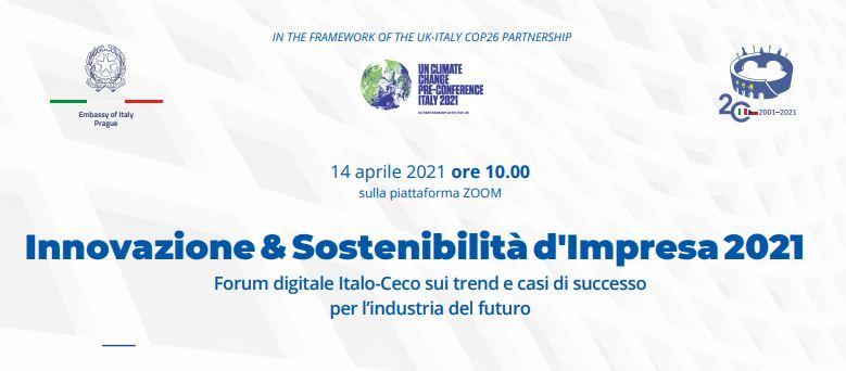 Innovazione e sostenibilità: Di Stefano al forum di Ambasciata e CCI di Praga