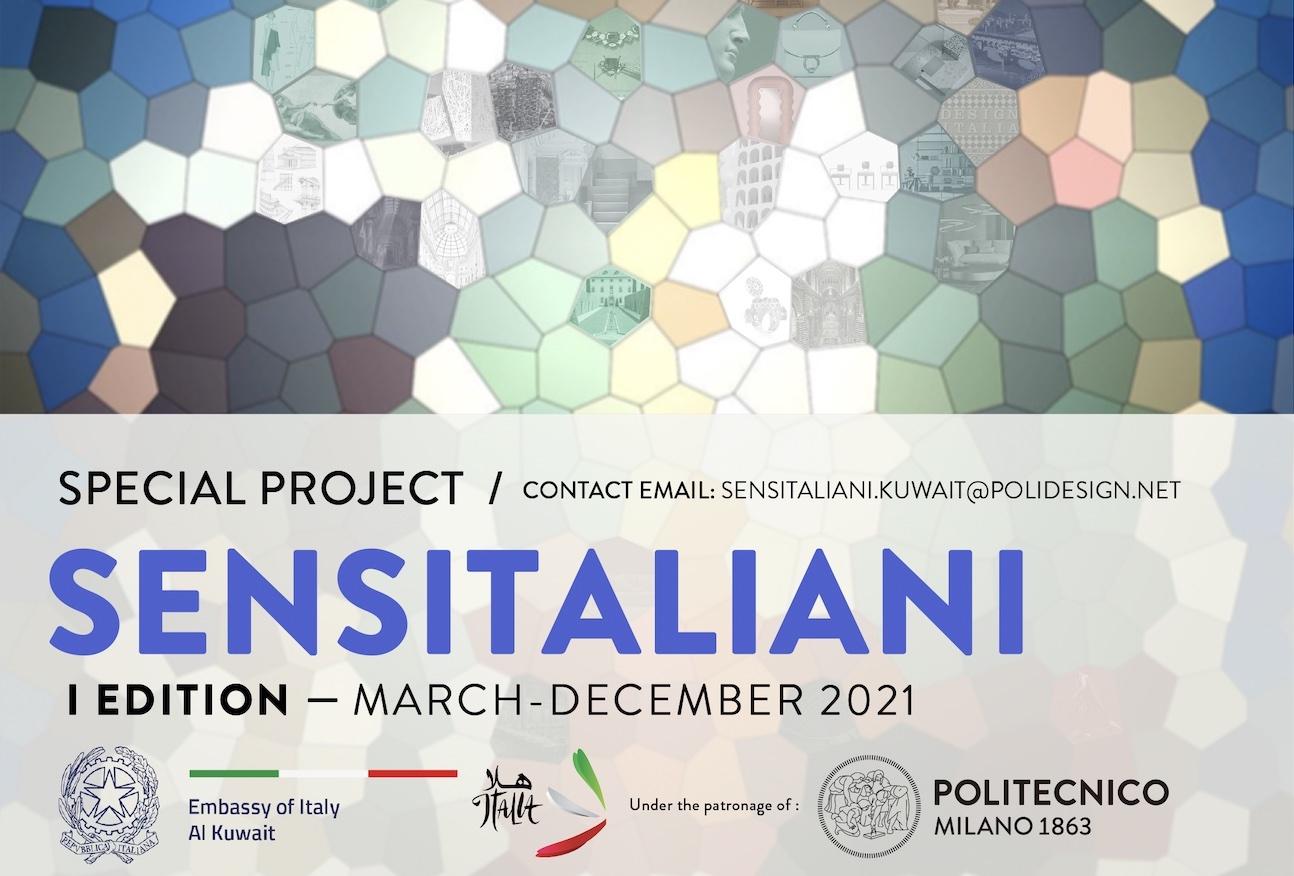 SENSITALIANI: al via il progetto di promozione del design italiano nato dalla collaborazione tra POLI.design e Ambasciata italiana in Kuwait