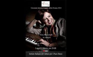 Giornata Internazionale della Donna 2021: Rita Marcotulli in concerto con l'IIC di Amsterdam
