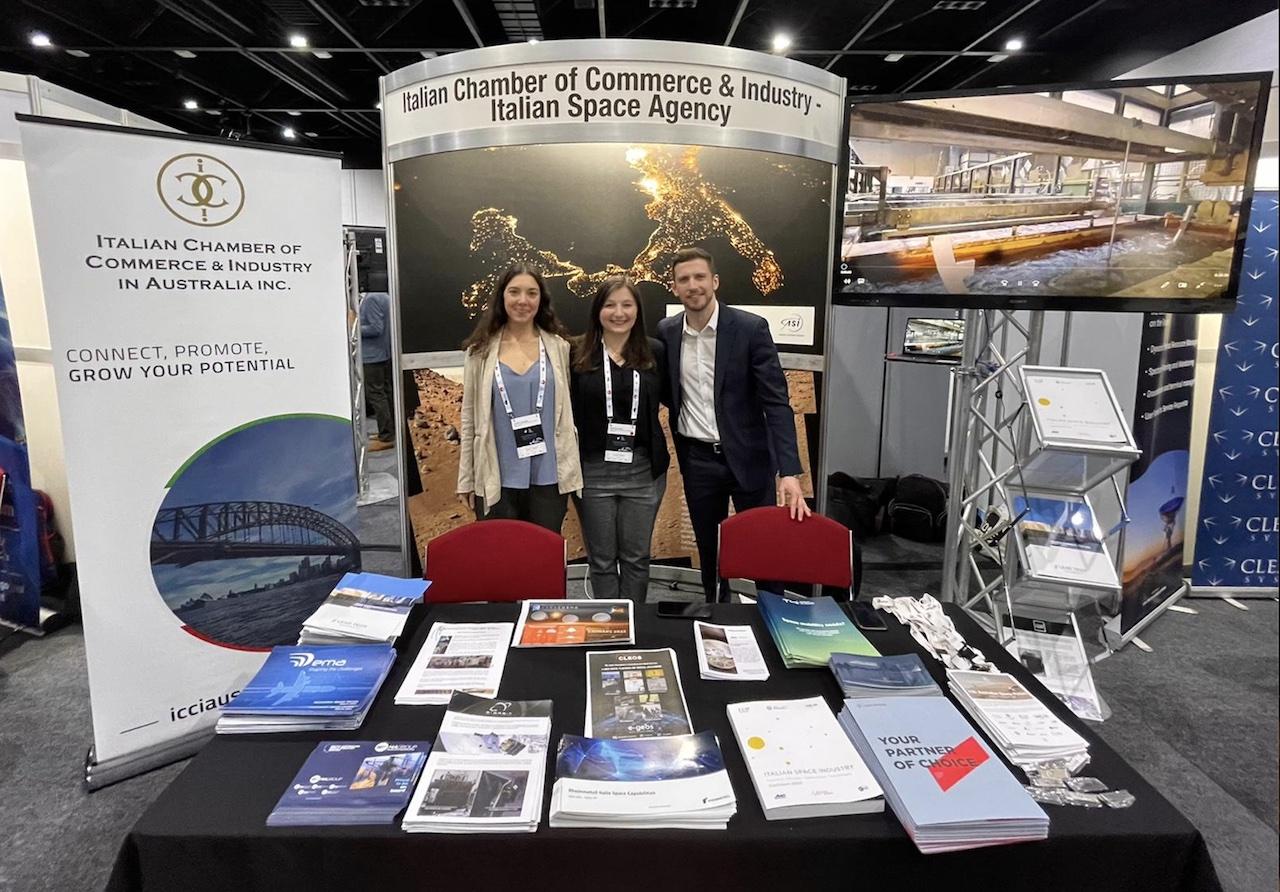 La CCIE di Sydney e l'Agenzia Spaziale Italiana insieme all'Australian Space Forum 2021