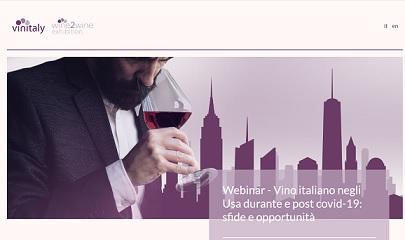 VINO ITALIANO NEGLI USA DURANTE E POST COVID-19: IL WEBINAR DI VINITALY