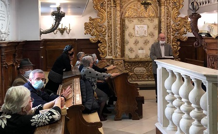 Gli italiani a Gerusalemme celebrano lo Yom Hashoà