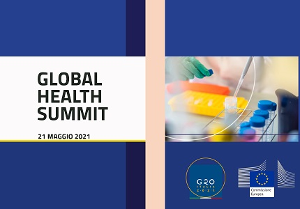 Global Health Summit il 21 maggio a Roma