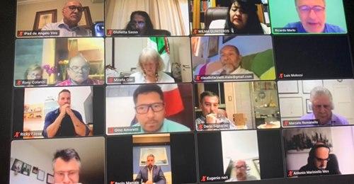 Oltre 50 coordinatori alla video-conferenza del Maie – Americhe/ Merlo: Costruiamo il futuro insieme