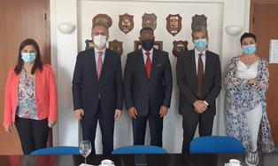 Dakar: l'ambasciatore De Vito e la direttrice Piermattei (Aics) incontrano l'Ilo
