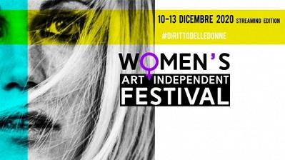 Women's Art Independent Festival: al via in streaming il festival dedicato ai diritti delle donne