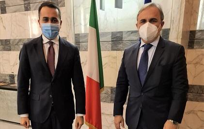 """Alla Farnesina incontro Di Maio-Merlo: """"Visione politica condivisa su molti aspetti"""""""