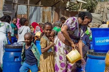 Gli effetti del conflitto nel Tigray sui bambini: la preoccupazione dell'Unicef
