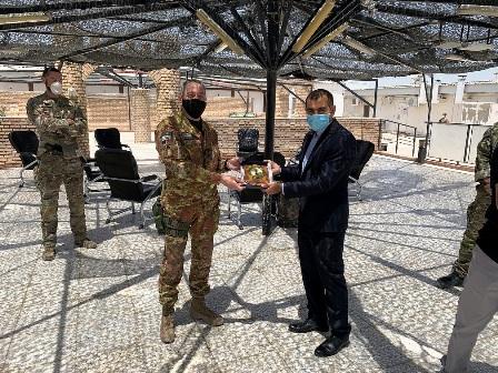 AFGHANISTAN: PROSEGUONO GLI INCONTRI ISTITUZIONALI AL TAAC-WEST