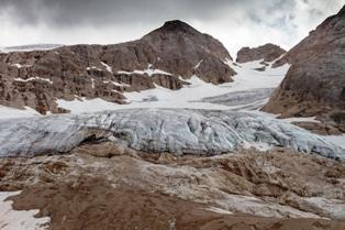 ALLARME CLIMA: TRA 25-30 ANNI IL GHIACCIAIO DELLA MARMOLADA NON CI SARÀ PIÙ