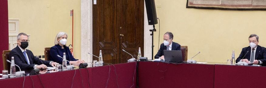 Consultazioni: da Confindustria pieno sostegno a Draghi