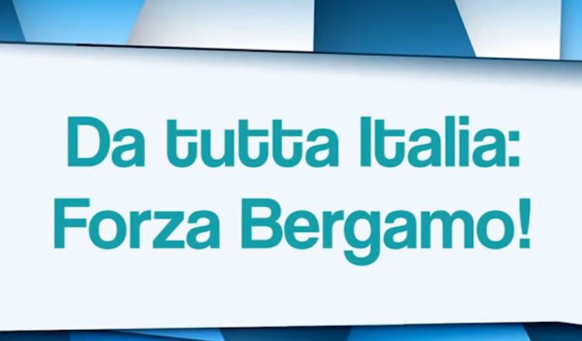 """""""FORZA BERGAMO!"""": VIDEO DI SOSTEGNO DEI BERGAMASCHI NEL MONDO"""