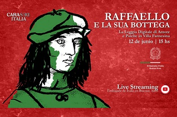 BUENOS AIRES: LIVE STREAMING SU RAFFAELLO CON L