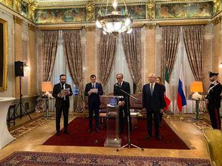 MOSCA: ONORIFICENZA AL DIRETTORE DI ROSSISKAYA GAZETA PAVEL NEGOITSA