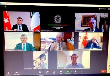 IL SOTTOSEGRETARIO SCALFAROTTO AL COMITATO IMPRENDITORI ITALIANI IN TURCHIA