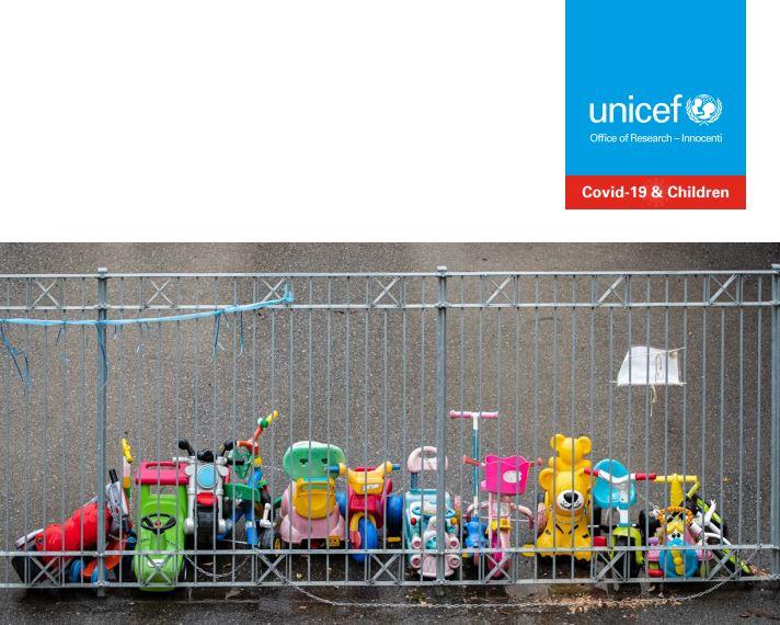 Allarme Unicef: solo il 2% dei finanziamenti contro il Covid a bambini e famiglie povere
