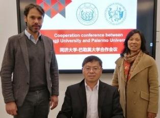 L'UNIVERSITÀ DI PALERMO SIGLATA UN MEMORANDUM CON LA TONGJI UNIVERSITY DI SHANGHAI