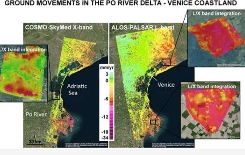 """Subsidenza: dal Cnr una mappatura delle zone a rischio """"sprofondamento"""""""