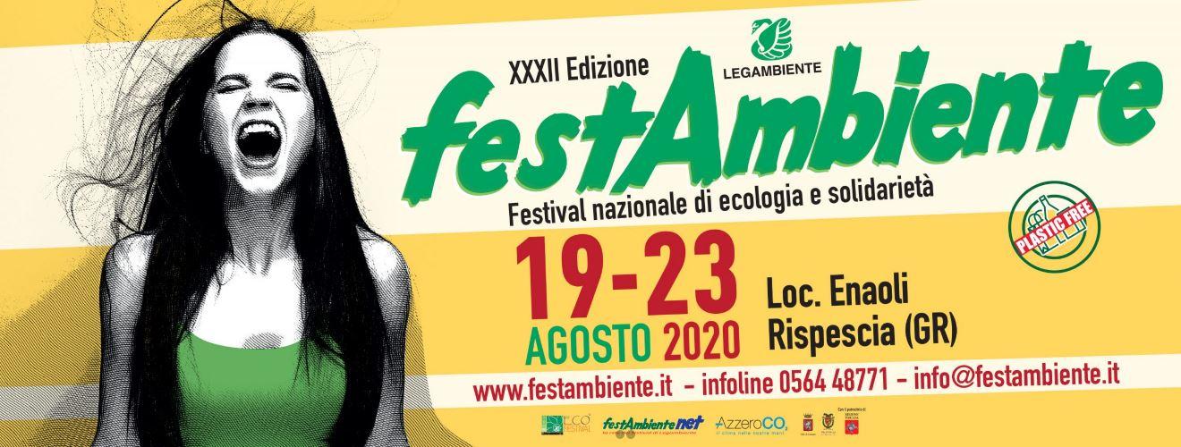 FESTAMBIENTE: DAL 19 AL 23 AGOSTO IL FESTIVAL NAZIONALE DI LEGAMBIENTE