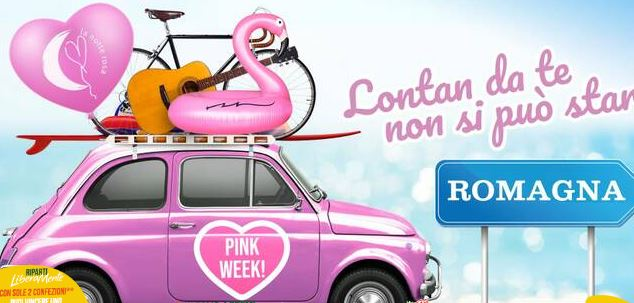 PINK WEEK 2020: LA NOTTE ROSA DOLCE E STRAORDINARIA