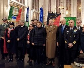 SOLENNE CELEBRAZIONE A BRUXELLES DEI MILITARI E CIVILI ITALIANI CADUTI NELLE MISSIONI INTERNAZIONALI DI PACE