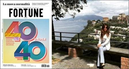 """LA RICERCATRICE ENEA MARIALAURA DI SOMMA TRA I """"40 UNDER 40"""" PIÙ INFLUENTI SECONDO LA RIVISTA FORTUNE"""
