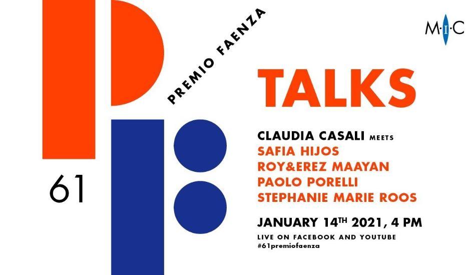 """Al via i """"61° Premio Faenza Talks"""" del MIC di Faenza"""